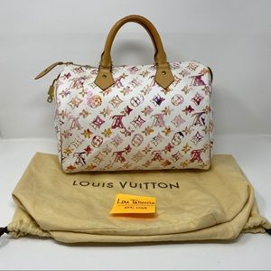 Louis Vuitton Speedy 30 Monogram Watercolor